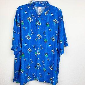 Vintage Disney Hawaiian shirt, size XL